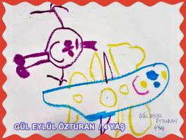 GÜL EYLÜL ÖZTURAN / 4 YAŞ