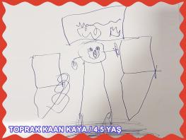 TOPRAK KAAN KAYA / 4.5 YAŞ